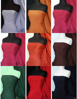 Slinky stretch jersey lycra spandex fabric material Free P&P
