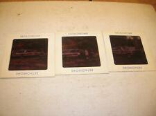 3 AMAZING 1960S  3 X 3 SLIDES.FAMILY/ WOOD PANELED 1960S FORD GALAXIE STATION WG