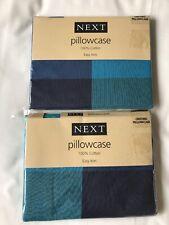 next Oxford Pillowcases X 2 100% Cotton