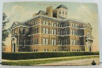 NY Fulton, High School Postcard M6
