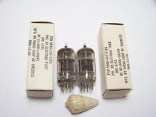 MATCHED PAIR 2 RCA JAN 5751 WA 12AX7 Vtg Guitar Amp Vacuum Tube OEM Part NOS NIB