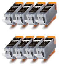 8 PK BLACK Ink w/ CHIP for PGI 225 BK Canon Pixma MG8120 MG8220 MX882 MX892