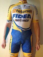 TELENET Fidea Ridley BIO RACER LYCRA CYCLING Skin Suit, Team Issue (2)