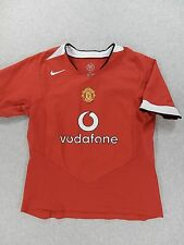 Manchester United Nike 90 Stitched Logo Replica Soccer Jersey (Youth Large