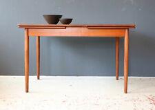 Vintage 60er Teak Esstisch ausziehbar Danish Mid-Century 60s Dining Table