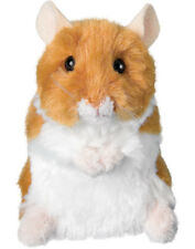 "NWT Douglas Plush 5"" Brushy Hamster Pet New Soft SMALL Stuffed Animal Toy"