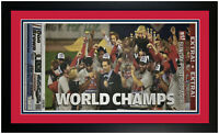 St Louis Cardinals 2011 World Series Champions Newspaper 10/30/11 Framed!