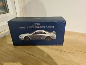 EBBRO Premium Collection 1/24 diecast Nissan Skyline GT-R R34 VII