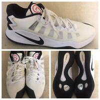 Nike Hyperdunk 2016 Low Size 15 US Basketball Shoes White Black 844363-100 NWOB