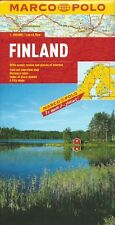 Marco Polo Finland Map *FREE SHIPPING - NEW*