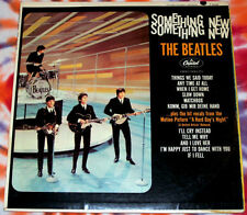 BEATLES Something New CAPITOL RECORDS 1964 #3 VG++ MONO First Pressing RARE