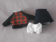 RETIRED MINI AMERICAN GIRL MOLLY MEET OUTFIT SWEATER & WOOL SKIRT 4 ANY MINI
