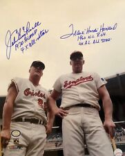 Boog Powell and Frank Howard Dual Autograph 1969 All Star 16 x 20 Auto Photo COA
