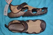 Crocs KHAKI/BROWN Comfort Design Men's Swiftwater Sandal. Size M10 NEW rrp$79.99
