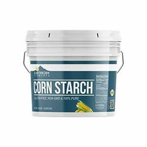 Corn Starch (1 Gallon (4.5 lb.)) by Earthborn Elements, Resealable Bucket, Thick