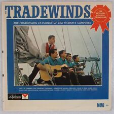 TRADEWINDS: Folksinging College Campuses Folk DIPLOMAT Mono 60s LP