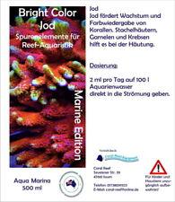 Coral Reef Bright Color Spurenelemente Meerwasser 500 ml Jod