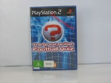 The Great British Football Quiz Sony PS2 New and sealed ,100% Pal Game( AUS )