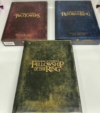 The Lord of the Rings set (Dvd Special Extended Dvd Edition Collectors) 12 Discs