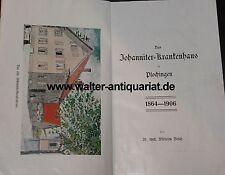 Il Johann iter-ospedale di Plochingen 1864-1906 W. BOSCH Baden-Württemberg...