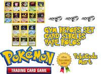 Pokemon Cards Gym Heroes HOLO. (Misty's, Rocket's, Sabrina's, Erika's, Brock)