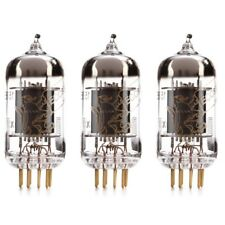 New Matched Trio (3) Reissue Genalex Gold Lion 12AX7 / ECC83 GOLD PIN Tubes Ship