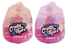 NEW HATCHIMALS PIXIES CRYSTAL FLYERS PINK & PURPLE TRUSTED U.S. SELLER FREE S&H