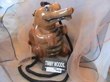 Timmy Woods of Beverly Hills Classic Alligator Acacia Wood Purse New NWT
