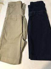 Boys shorts, pants, uniform shorts, Size 7 Lot Of 4 Euc