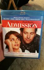 Admission (Blu-ray, 2013, DVD )  Tina Fey  &  Paul Rudd Fast Free Shipping
