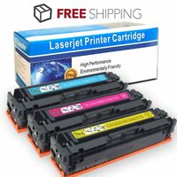 3 Pack High Yield Toner for HP CF410X Color Laserjet Pro M452dw M477fdw M477fnw
