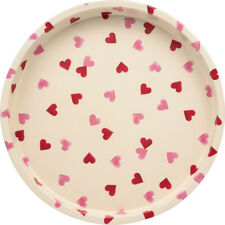 Emma Bridgewater Pink Hearts Deep Well Round Metal Tray