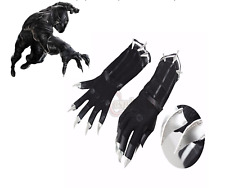 Black Panther CLAW GANTS Cosplay Toys Gifts Superhero One Size Props Adult New