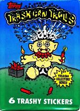 Trash Can Trolls Trading Card Pack