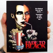 FADE TO BLACK (1980) Blu-ray *80's SLASHER* Limited Ed.1/4000 *w/RARE SLIPCOVER