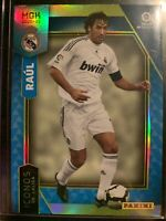 2020-21 Panini Megacracks MGK La Liga Raúl Real Madrid Icons RARE Chrome