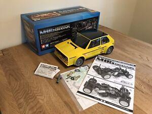 Tamiya M05 VW Golf Mk1 47308 1/12 RC Built Kit Full Ball Raced Chassis