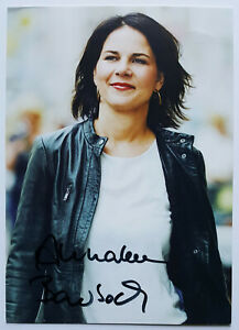 ⭐⭐⭐⭐ Annalena Baerbock ⭐⭐⭐ Autogramm ⭐⭐⭐ Autogrammkarte ⭐⭐⭐ signierte AK ⭐⭐⭐