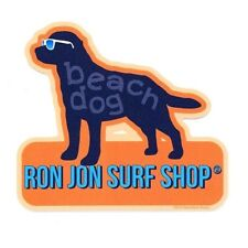 Ron Jon  Beach Dog decal NEW