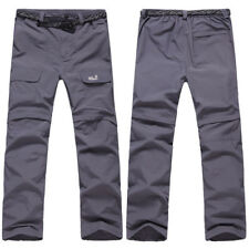 Men's Male Summer Quick Drying Slim Casual Pants Long Cargo Work Trousers S-3XL