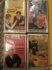 New listing 4 Unopened Camel Lights Collectors Packs Camel Cash Hard Pack Lighters. Rare