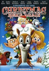 JAY LENO narrates Christmas is Here Again (DVD, 2008)