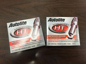 Autolite HT1 2005-2008 Mustang 4.6L 3V GT Double Platinum Spark Plugs Set of 8