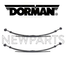 For Chevrolet Silverado 1500 GMC Sierra 1500 Set Pair of 2 Rear Leaf Springs