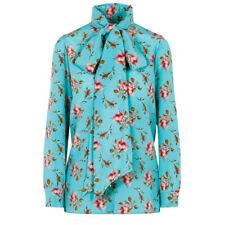 ceea0f59 Gucci Floral Print Silk Blouse Size:42/6 $1980 NWT