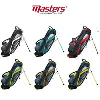 MASTERS 2019 SL800 DUAL STRAP SUPERLITE GOLF CARRY STAND BAG All Colours