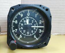 Aircraft Cockpit Barometric Altimeter - Flight Height Indicator Vintage USSR