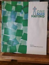 Vintage 1960 John Deere One Man Haying brochure