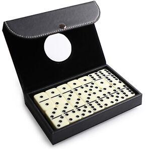 Signature Dominoes Classic Game Premium Display Case Great Gift Value New