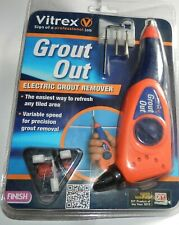 Vitrex Grout Out, Electric Grout Remover, BNIP, Free Tracked P+P
